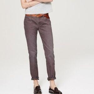 Ann Taylor LOFT Corduroy Boyfriend Jeans